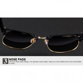 Kacamata Mirror Polarized - Golden - 6