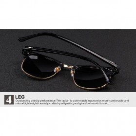Kacamata Mirror Polarized - Golden - 7