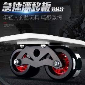 Drift Two Roller Skateboard Plate - Z1 - Black - 3