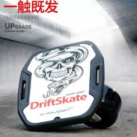 Drift Two Roller Skateboard Plate - Z1 - Black - 5