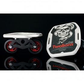 Drift Two Roller Skateboard Plate - Z1 - Black - 7