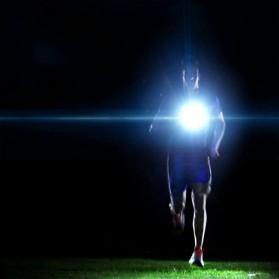 Lampu Dada Olahraga Lari Run Lights LED Q5 - ST3045 - Black - 4