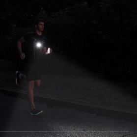 Lampu Dada Olahraga Lari Run Lights LED Q5 - ST3045 - Black - 5