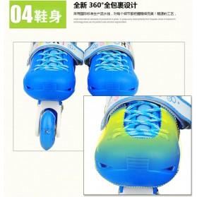Roller Skate dengan Set Pengaman Size M - Pink - 5