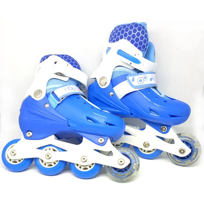Roller Skate dengan Set Pengaman Size M - Blue - JakartaNotebook.com 4e0a8f3249