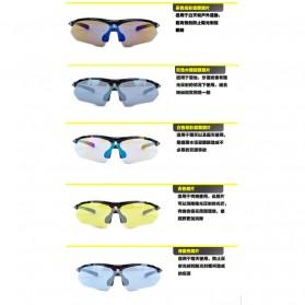 CoolChange Kacamata Sepeda dengan 5 Lensa Myopia - 0089 - Black - 10