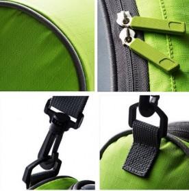 Tas Sepeda Front Frame dengan Smartphone Pocket - Green - 4