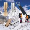 Perlengkapan EDC & Survival - WDAIREN Gantungan Kunci Peluit Aluminium - Z6482 - Silver
