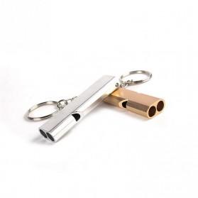 WDAIREN Gantungan Kunci Peluit Aluminium - Z6482 - Silver - 3