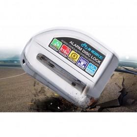 Gembok Alarm Sepeda Motor Waterproof 110dB - FS8305 - Yellow - 7
