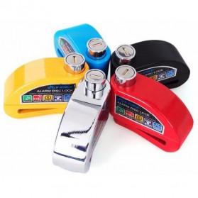 Gembok Alarm Sepeda Motor Waterproof 110dB - FS8305 - Yellow - 10