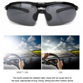 Copozz Kacamata Sepeda dengan 5 Lensa Myopia - Black - 8