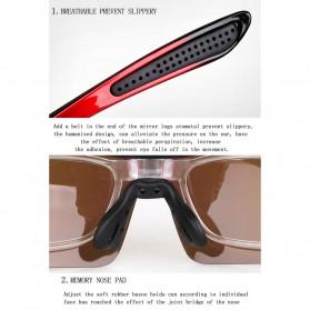 Copozz Kacamata Sepeda dengan 5 Lensa Myopia - Black - 12