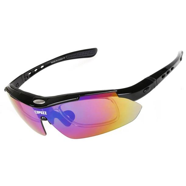 ... Copozz Kacamata Sepeda dengan 5 Lensa Myopia - Black - 1 ... 84554432e6