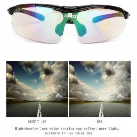 Copozz Kacamata Sepeda dengan 5 Lensa Myopia - Red - 10