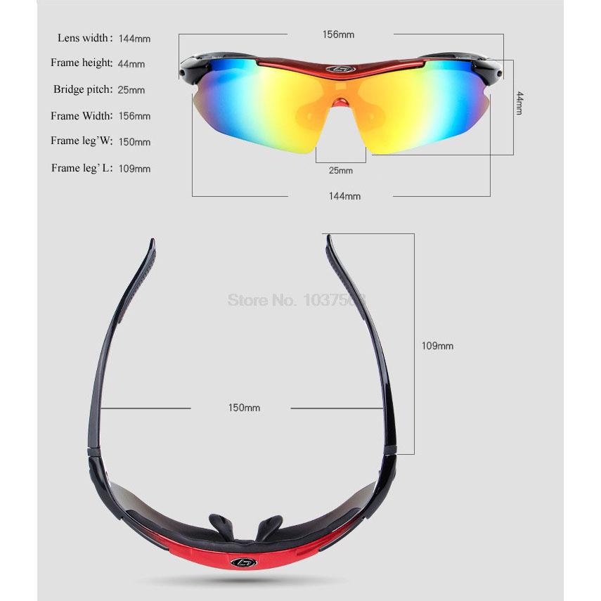 ... OBAOLAY Kacamata Sepeda dengan 5 Lensa Myopia (false) - Black - 6 ... bfa2281d33