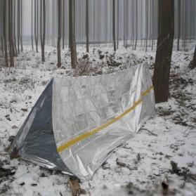 Tenda Camping Emergency - BW2503082 - Silver - 2