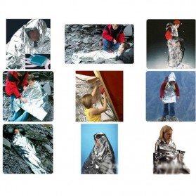 Tenda Camping Emergency - BW2503082 - Silver - 4