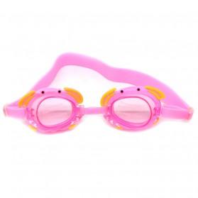 Kacamata Renang Frame Cute Cartoon - Pink