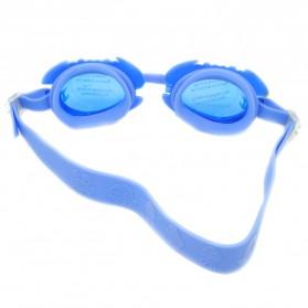 Kacamata Renang Frame Cute Cartoon - Blue - 2