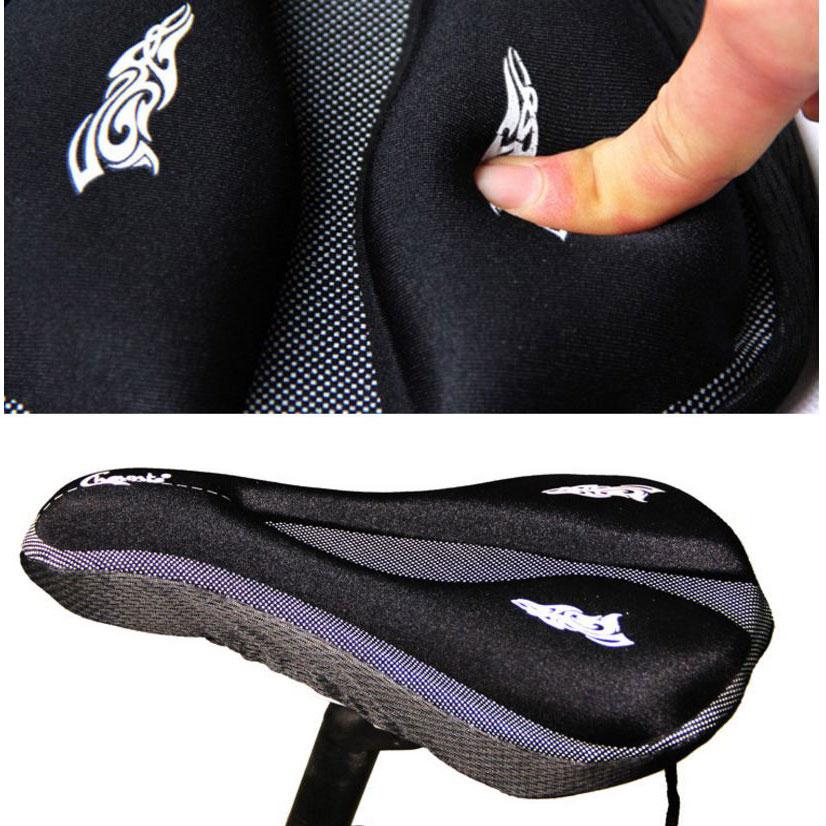 Jok Sadel Sepeda 3D Gel Silicone - Black - JakartaNotebook.com