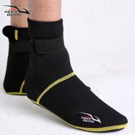 Keep Diving Sepatu Scuba Diving Size L - DS-102 - Black - 2