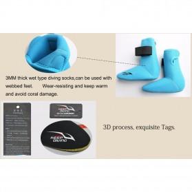 Keep Diving Sepatu Scuba Diving Size L - DS-102 - Black - 6