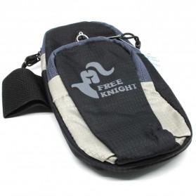 Tas Armband Lari dengan Lubang Earphone - Black