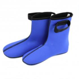Sepatu Neoprene Scuba Diving Size L - Black - 2