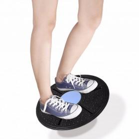 Alat Fitness Balance Board Keseimbangan - Black Blue