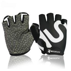 Sarung Tangan Gym Half Finger - Size L - Black