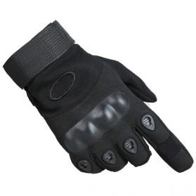 Motor - Oakley Sarung Tangan Motor Protektor Off Road Anti Slip - Size L - Black