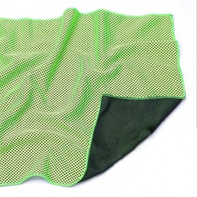 Zipsoft Handuk Dingin Sport Cooling Towel - SH-C00290 - Green