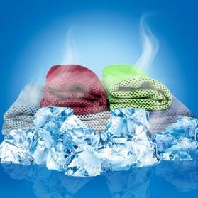 Zipsoft Handuk Dingin Sport Cooling Towel - SH-C00290 - Green - 2