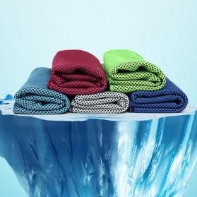 Zipsoft Handuk Dingin Sport Cooling Towel - SH-C00290 - Green - 5