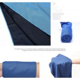 Zipsoft Handuk Dingin Sport Cooling Towel - SH-C00290 - Green - 7