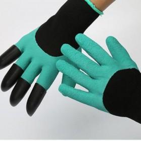 Sarung Tangan Berkebun Antislip Spandex - CZ-0146 - Green - 2