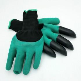 Sarung Tangan Berkebun Antislip Spandex - CZ-0146 - Green - 3
