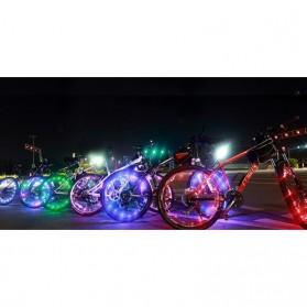 Lampu Roda Sepeda 20 LED 7 Color - Black - 2