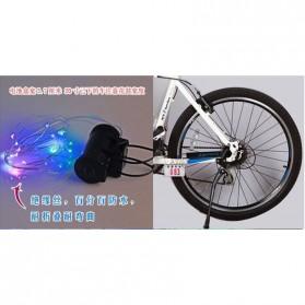 Lampu Roda Sepeda 20 LED 7 Color - Black - 3