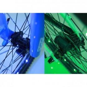 Lampu Roda Sepeda 20 LED 7 Color - Black - 4