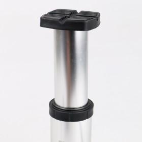 TaffSPORT Pompa Angin Ban Sepeda - FP1845D - Silver - 11