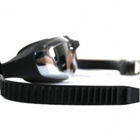 Kacamata Renang Electroplating Anak dan Dewasa - 5500M - Black - 3