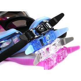 Kacamata Renang Electroplating Anak dan Dewasa - 5500M - Black - 5