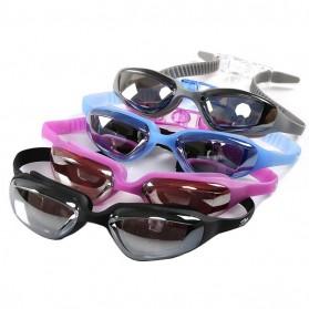 Kacamata Renang Electroplating Anak dan Dewasa - 5500M - Black - 6