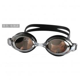 Kacamata Renang 3D Anak dan Dewasa - G1100M - Black