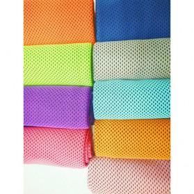 Handuk Dingin Sport Packing Botol Cooling Towel - LQT-16 - Blue - 2