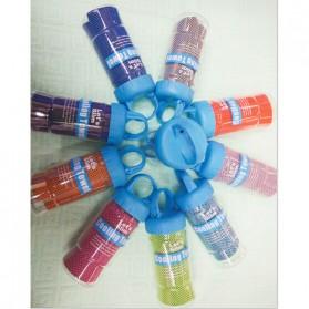 Handuk Dingin Sport Packing Botol Cooling Towel - LQT-16 - Blue - 3
