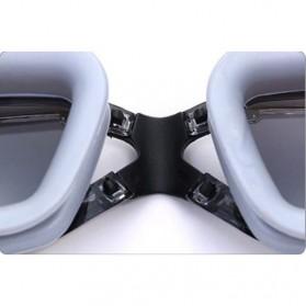ZHENYA Kacamata Renang Minus 3.5 Anti Fog UV Protection G7800M - Black - 4