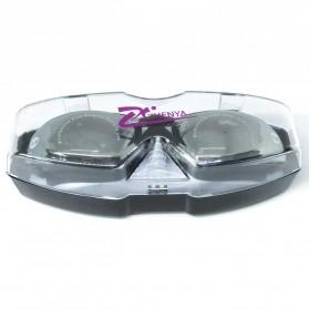 ZHENYA Kacamata Renang Minus 3.5 Anti Fog UV Protection G7800M - Black - 5